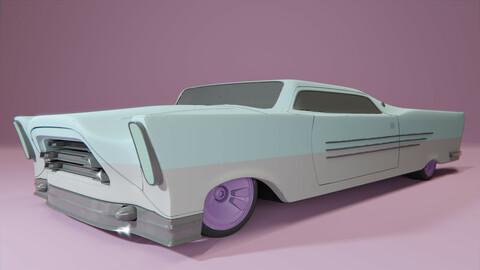 Retro-futuristic cruiser concept