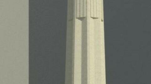 old egyptian column 02
