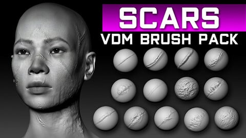Scars HQ Brush Pack
