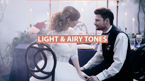 Cinematic LUTs + Desktop & Mobile Presets Light Airy Film