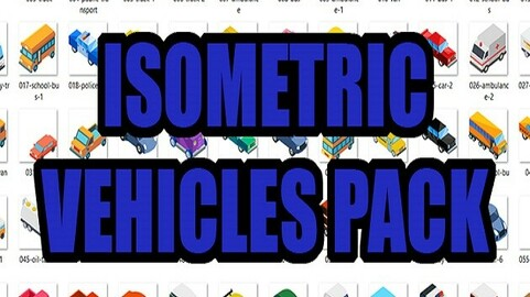 Isometric Vehicles Pack
