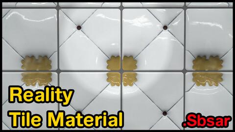 Reality Tile Material / v16 / .sbsar