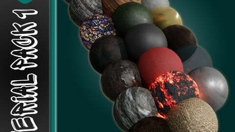 Blender 2.9 Free Material & Texture Download 🎁( Pack 1 )🎁