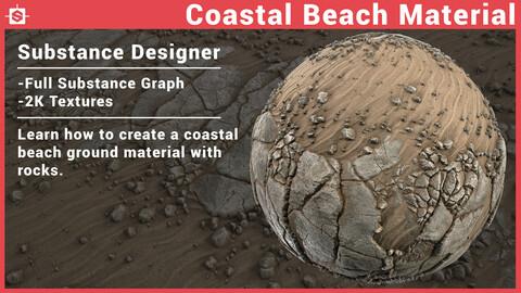 Coastal Beach - Substance Designer