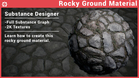 Rocky Ground Material in Substance Designer