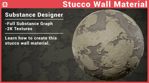 Stucco Material in Substance Designer