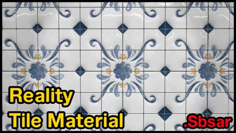 Reality Tile Material / v20 / .sbsar