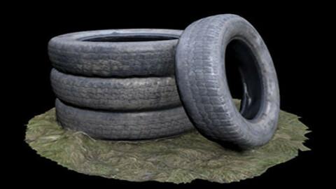 old tires (3D Scan)