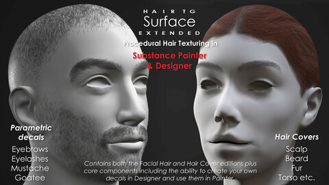 HairTG - Surface Extended