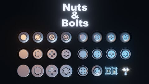 22 Decals Nuts & Bolts / DECALmachine 2.3 Ready! / FREE