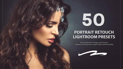 50 Portrait Retouch Lightroom Presets