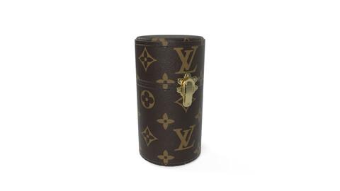 Louis Vuitton Travel Case Brown