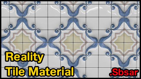 Reality Tile Material / v21 / .sbsar