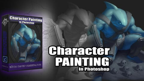 Character Painting In Photoshop: Volume 2