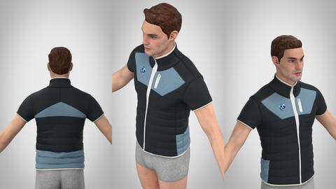 Very simple vest 3d model