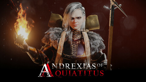 Andrexias of Anquiatitus Female Knight