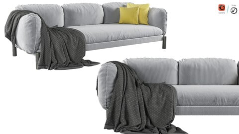 Tarantino 3 Seater Sofa