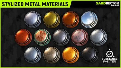 Stylized Metal Smart Materials