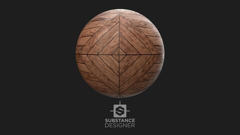 Aztec wood pattern