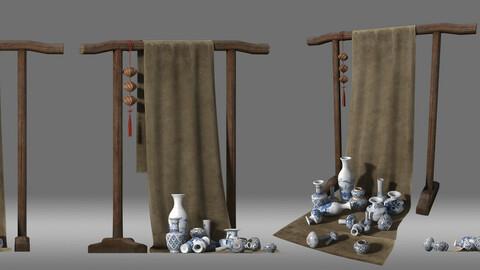 porcelain stall