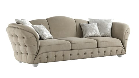 sofa GOLD CONFORT SCARLETT 3d model