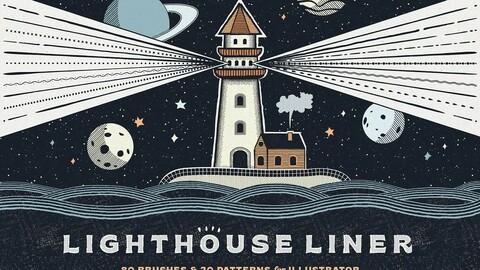 Liner Illustrator Brushes