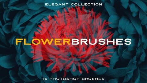 Elegant Flower Photoshop Brushes