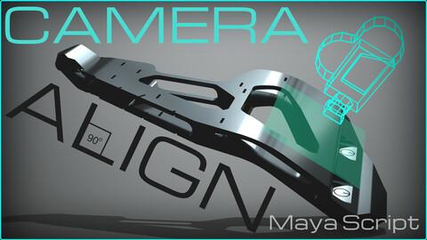 Camera Align | Maya Script