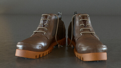 s ZBrush Modelling a Footwear