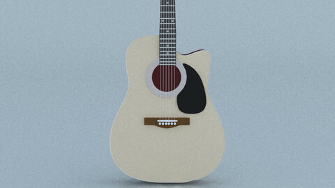 Acoustic Steel Strings guitar