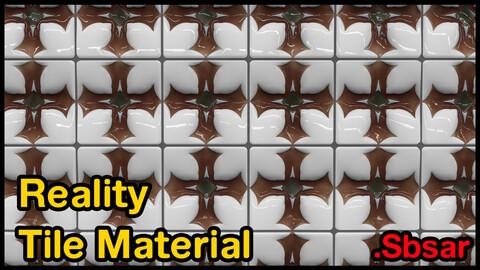 Reality Tile Material / v22 / .sbsar