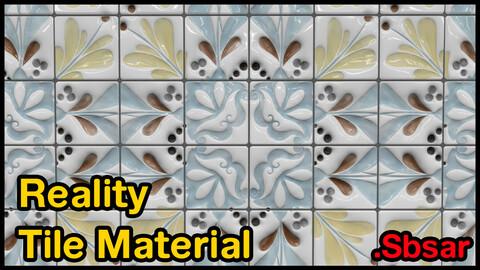 Reality Tile Material / v23 / .sbsar