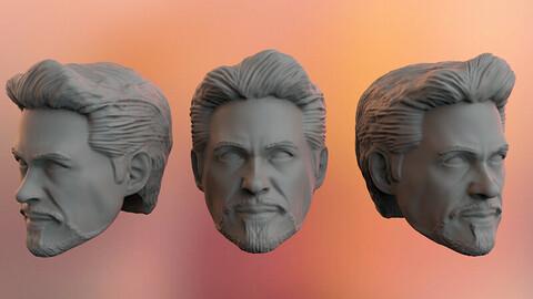 Tony Stark Headsculpt 3D print model