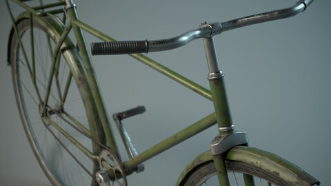 Old Bicycle PBR