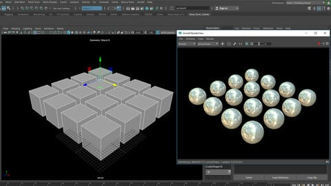 Batch Subdivide Mesh at Render Time - Arnold for Maya