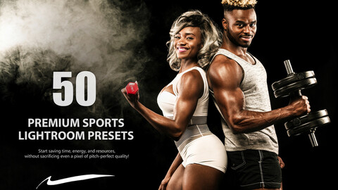 50 Premium Sports Lightroom Presets