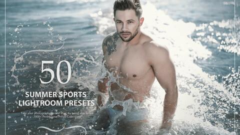 50 Summer Sports Lightroom Presets