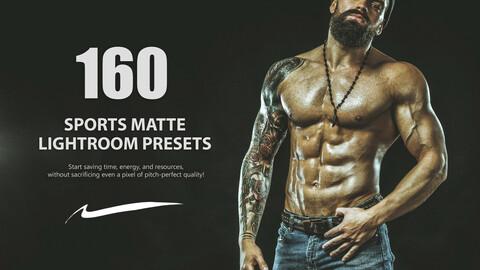 160 Sports Matte Lightroom Presets