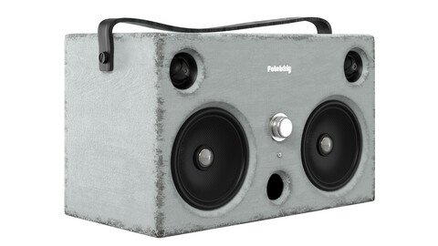 Stereo System audio box 3d model