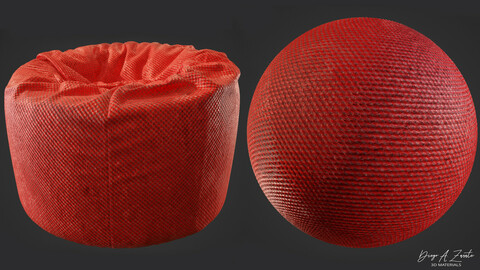 PBR synthetic fabric 4K Material