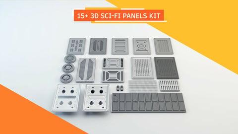Sci-Fi panels kit