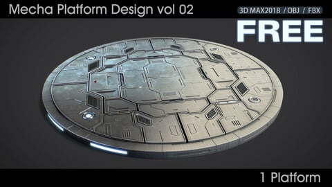 Mecha Platform Design vol 02 Free