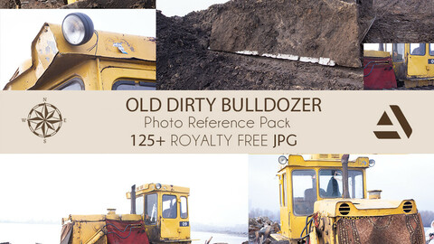 Photo Reference Pack: BULLDOSER Old