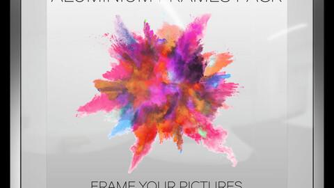 Aluminium Frames Photoshop Pack
