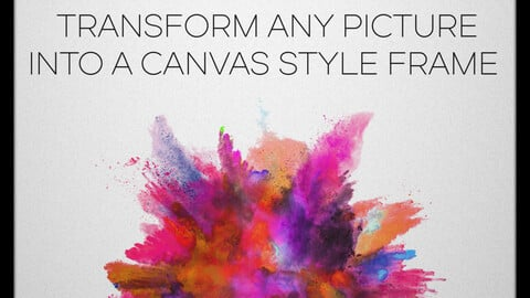 Canvas Photoshop Pack