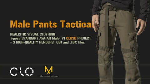 Male Pants Tactical