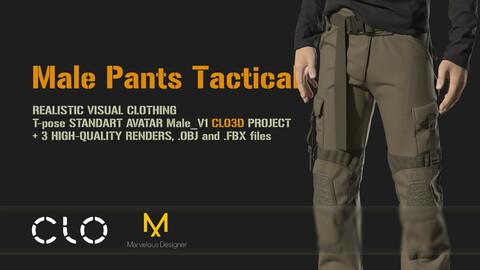 Male Pants Tactical
