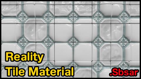 Reality Tile Material / v27 / .sbsar
