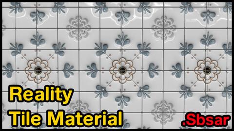 Reality Tile Material / v28 / .sbsar