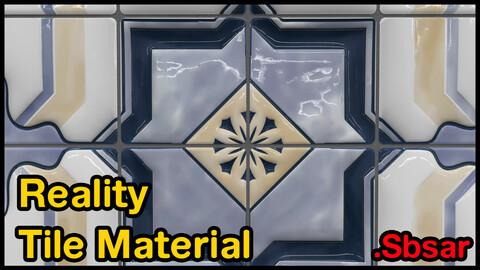 Reality Tile Material / v29 / .sbsar